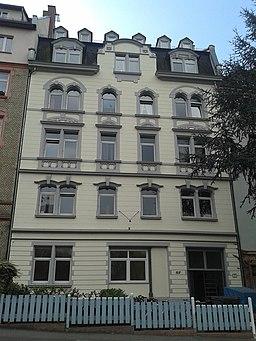 Wallstraße in Mainz