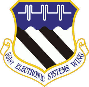 551st Electronic Systems Wing - 551st Electronic Systems Wing emblem