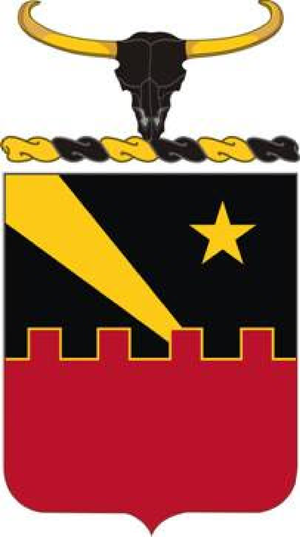 60th Air Defense Artillery Regiment - Coat of arms