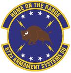 672 Armament Systems Sq emblem.png