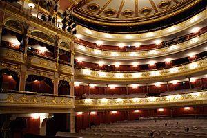 Wrocław Opera - Interior of the Opera
