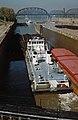87j172 Steel Trader departing 600-foot lock at McAlpine (8033865048).jpg