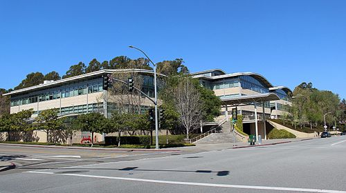 YouTube's headquarters in San Bruno, California 901 Cherry Avenue.jpg