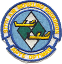 917th Air Refueling Squadron - SAC - Emblem