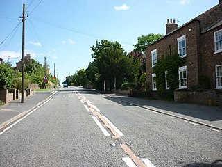 Thormanby village in the United Kingdom