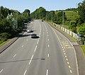 A48 west from Coedkernew Footbridge - geograph.org.uk - 1802529.jpg
