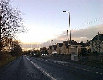 Muirhead, North Lanarkshire - A752 at Muirhead