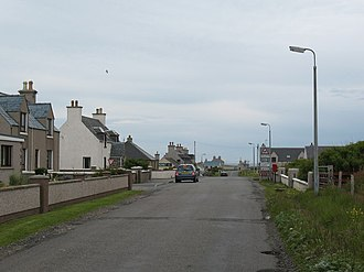 Lionel, Lewis - Image: A857 at Lional geograph.org.uk 509928