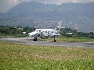 Aerolínea de Antioquia - Aerolínea de Antioquia Jetstream 32 taxiing at Olaya Herrera