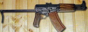 English: AG-043 Soviet compact fully automatic...