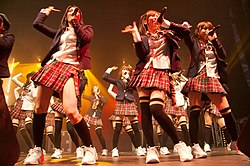 Le AKB48 si esibiscono in Francia a Japan Expo 2009