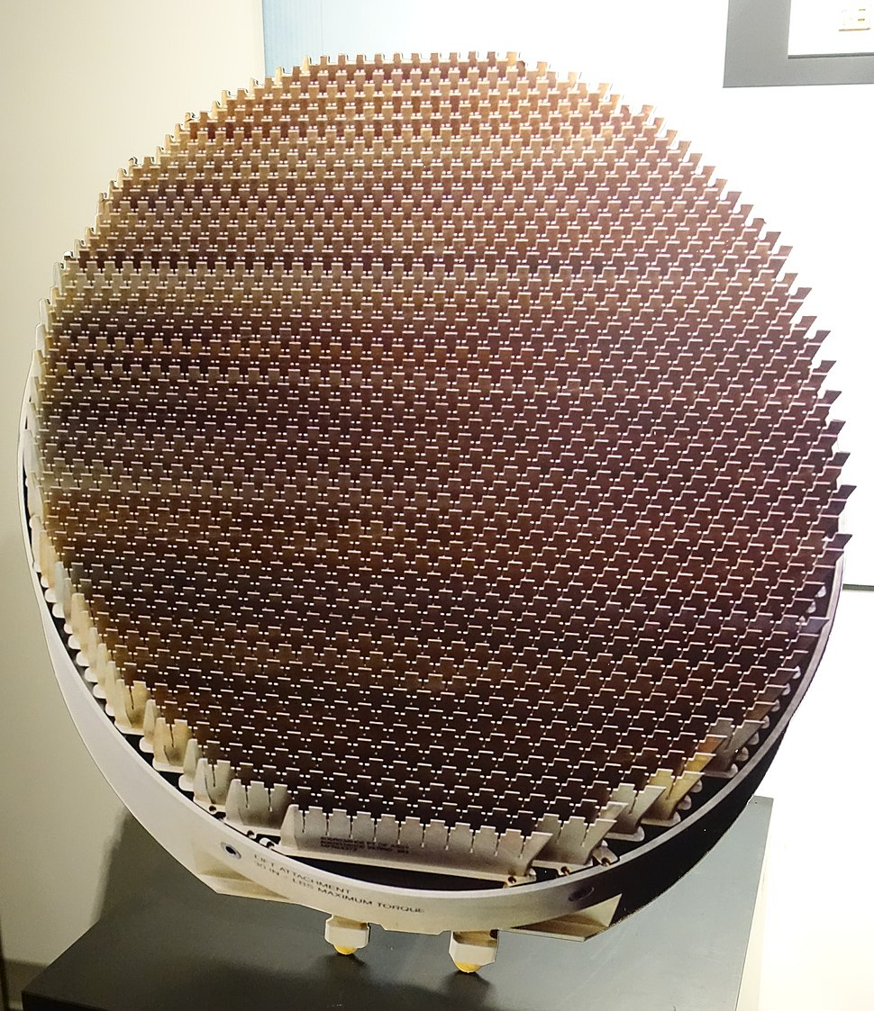 AN-APG-81 Antenna, 2005 - National Electronics Museum - DSC00393