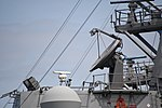 AN SPG-62 radar on board bridge of USS Curtis Wilbur (DDG-54) left front view at U.S. Fleet Activities Yokosuka April 30, 2018.jpg