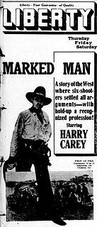 <i>A Marked Man</i> 1917 film