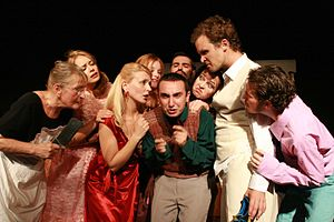 A Stab in the Dark (play) - Image: A Stab in the Dark The Cast