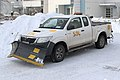 A Toyota Hilux pickup truck with a snowplow 01.jpg