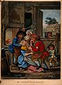A country blacksmith in his forge extracting a tooth from a Wellcome V0012032.jpg