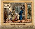 A farmer duping a doctor. Coloured etching by C. Williams, 1 Wellcome V0010951.jpg