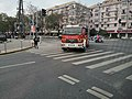 A fire engine on Youyi Branch Road, Baoshan District.jpg