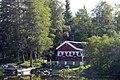 A house at Nydalasjön (Tavlesjön), Umeå - panoramio.jpg