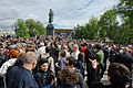A meeting with the writers on Pushkin Square. (7188962894).jpg