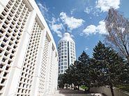 A view of Sheraton Ankara from Karum Shopping Mall