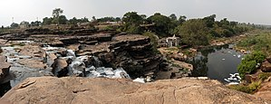 Panna, India - Image: A waterfall near Panna Bypass