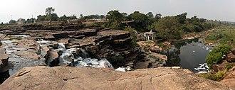 Panna, India - Image: A waterfall near Panna Bypass
