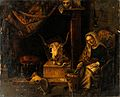 A witch. Oil painting. Wellcome V0017675.jpg