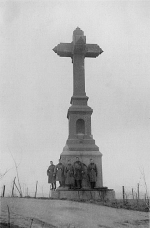 Battle of Crucifix Hill - Image: Aachen Haarener Kreuz 1939 by Ra Boe