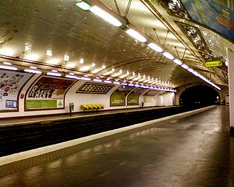 Abbesses (Paris Métro) - Image: Abbesses Metro