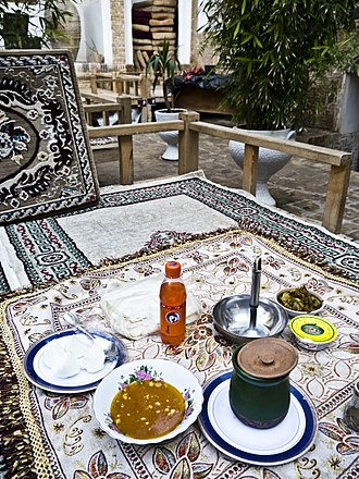 Abgoosht - Abgoosht served at a traditional-style restaurant in Iran