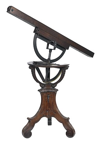 Abraham Sharp - Abraham Sharp's wooden telescope
