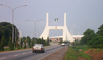 2009 FIFA U-17 World Cup - Image: Abuja gate