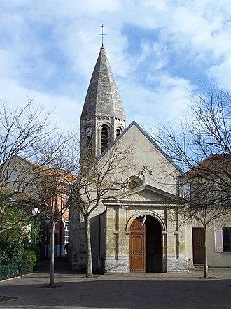 Achères, Yvelines - Achères church