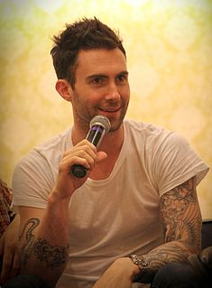 Adam Levine American singer-songwriter, actor and record producer