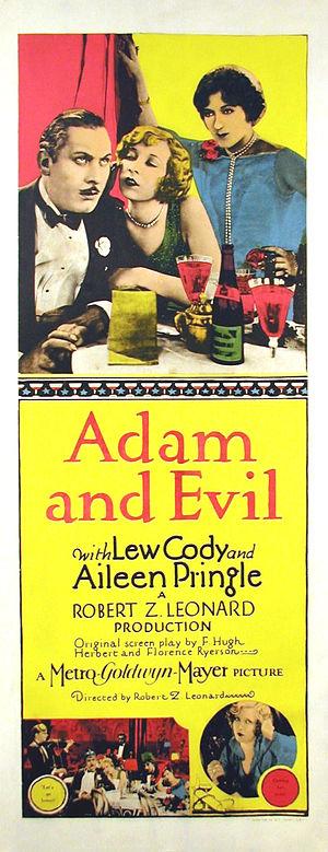Adam and Evil (1927 film) - Film poster