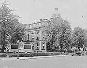 Adams County courthouse, Decatur, Indiana, 1935