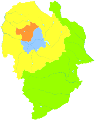 Liaoyuan - Image: Administrative Division Liaoyuan