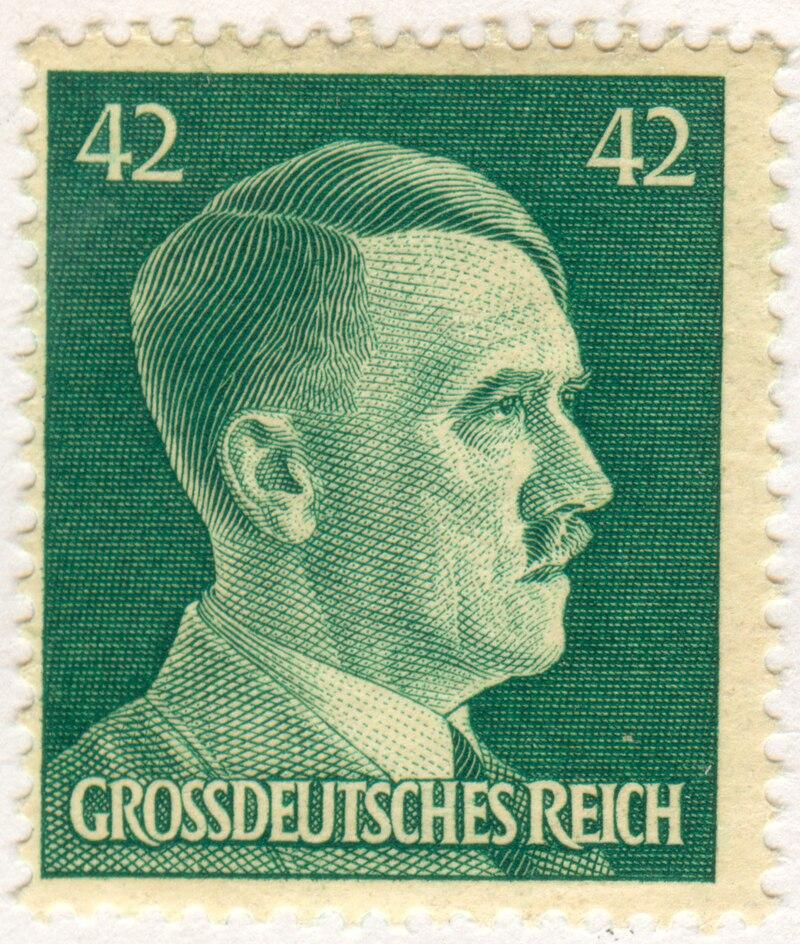 Adolf Hitler 42 Pfennig stamp.jpg