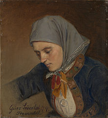 Portrait of Guro Sivertsdatter Travendal
