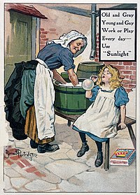 Advert for 'Sunlight' laundry soap Wellcome L0030372.jpg