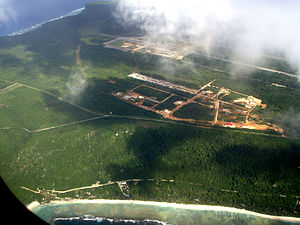 Andersen Air Force Base - Aerial view of Northwest Field at Andersen Air Force Base