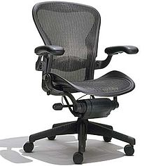 The Aeron By Herman Miller.