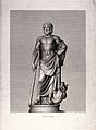 Aesculapius. Engraving by Schulfe after Granger. Wellcome V0036059.jpg