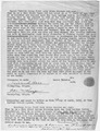 Affidavit of Daniel Katchia regarding the treaty of 1865, followed by confirmation of Beachcam. - NARA - 296355.tif