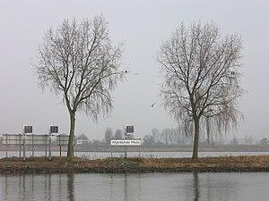Afgedamde Maas - Image: Afgedamde Maas Woudrichem