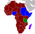 African Union member states by internal structure.png