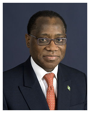 Olusegun Olutoyin Aganga, Minister for Finance...