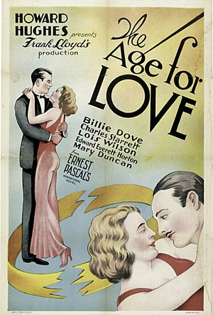 The Age for Love - Film poster